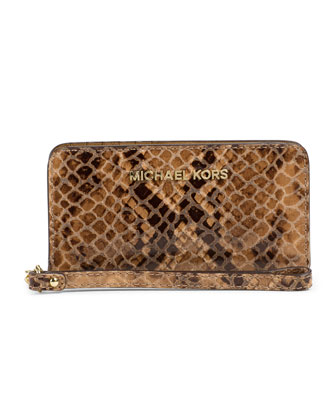 Jet Set Travel Slim Tech Wristlet
