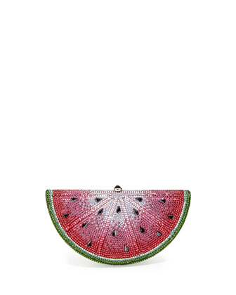 Crystal Watermelon Slice Minaudiere