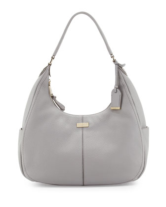 Village Small Rounded Hobo Bag, Paloma