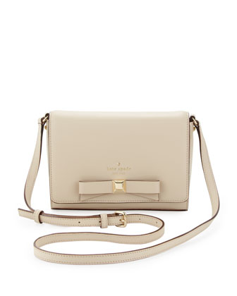holly street rubie crossbody bag, ostrich egg