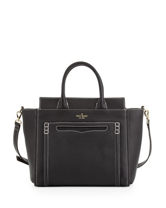 claremont drive marcella tote bag, black