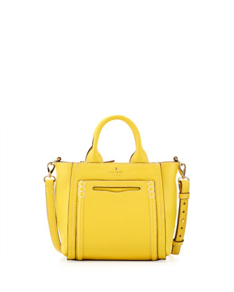claremont drive small marcella tote bag, limoncello