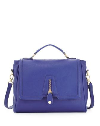 Cari Satchel Bag, Cobalt