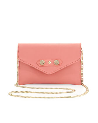 Tina Crossbody Bag, Salmon