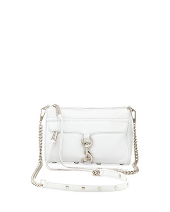 Mini MAC Crossbody Bag, White