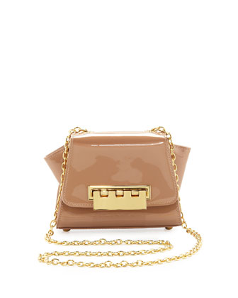 Eartha Mini Patent Crossbody Bag, Blush