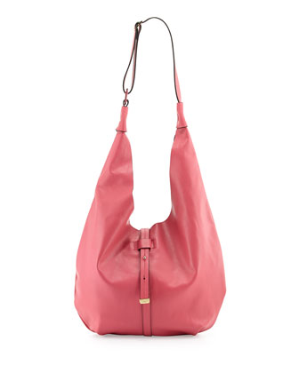 City Casual Hobo with Pochette, Fuchsia