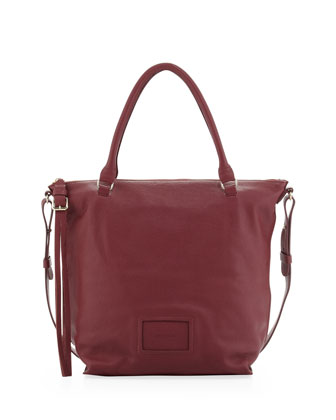 Alix Double-Function Tote Bag, Berry