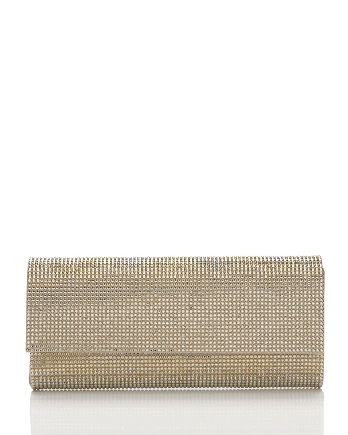 c9a5ef4594a Ritz Fizz Crystal Clutch Bag, Silver Champagne Judith Leiber Couture ...