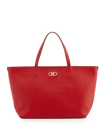 New Icona Bice Tote Bag, Rosso