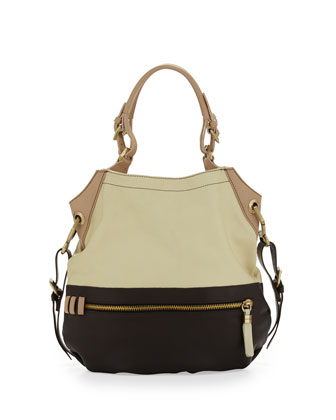 Sydney Colorblock Tote Bag, Butter Multi