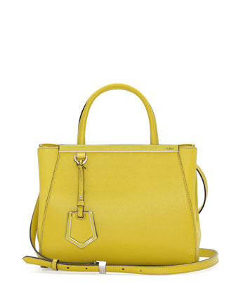 2Jours Petit Shopping Tote Bag, Yellow