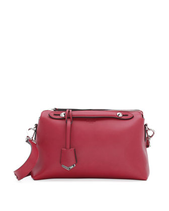 By The Way Leather Satchel Bag, Red