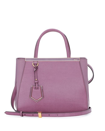 2Jours Petit Shopping Tote Bag, Lilac