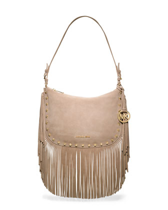 Medium Billy Fringe Shoulder Bag