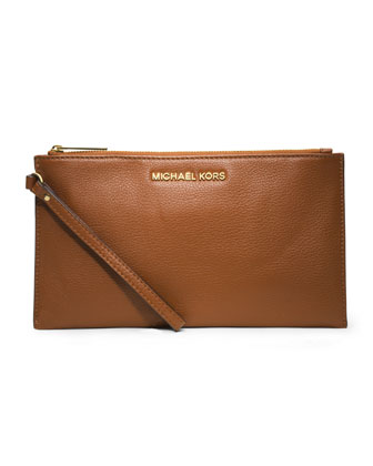Large Bedford Zip Clutch
