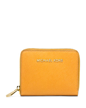 Medium Jet Set Travel Zip-Around Wallet