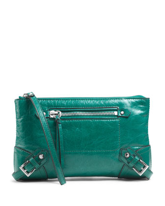 Large Fallon Zip Clutch