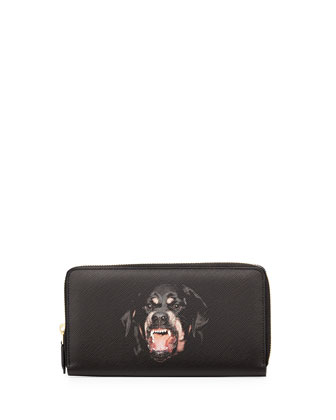 Zip Around Long Leaher Wallet, Multi