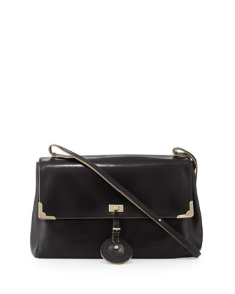 Jourdan 2 Shoulder Bag, Black