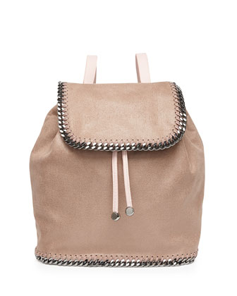 Falabella Shaggy Deer Backpack, Light Pink
