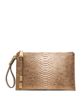 Large Harlow Zip Clutch