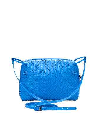 Veneta Small Messenger Bag, Cobalt Blue