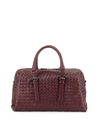 New Boston Medium Top-Handle Bag, Dark Purple
