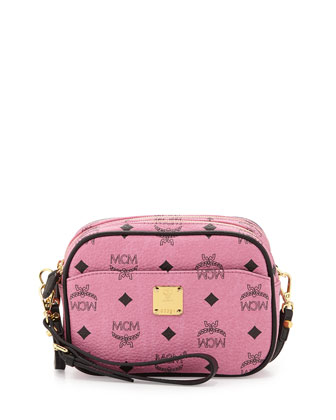 Visetos Mini Crossbody Bag, Pink