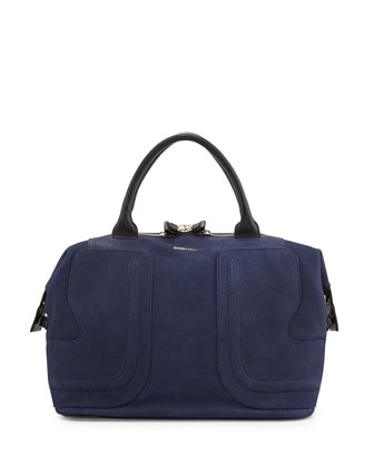 Kay 24-Hours Satchel Bag, Ultramarine