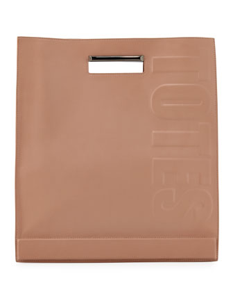 Totes Amaze Cutout Handle Tote Bag, Nude