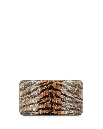 Airstream Large Animal-Print Clutch Bag, Ceylon Multi