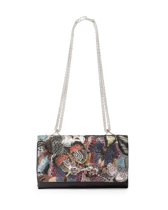 Va Va Voom Camo Butterfly Shoulder Bag, Multi