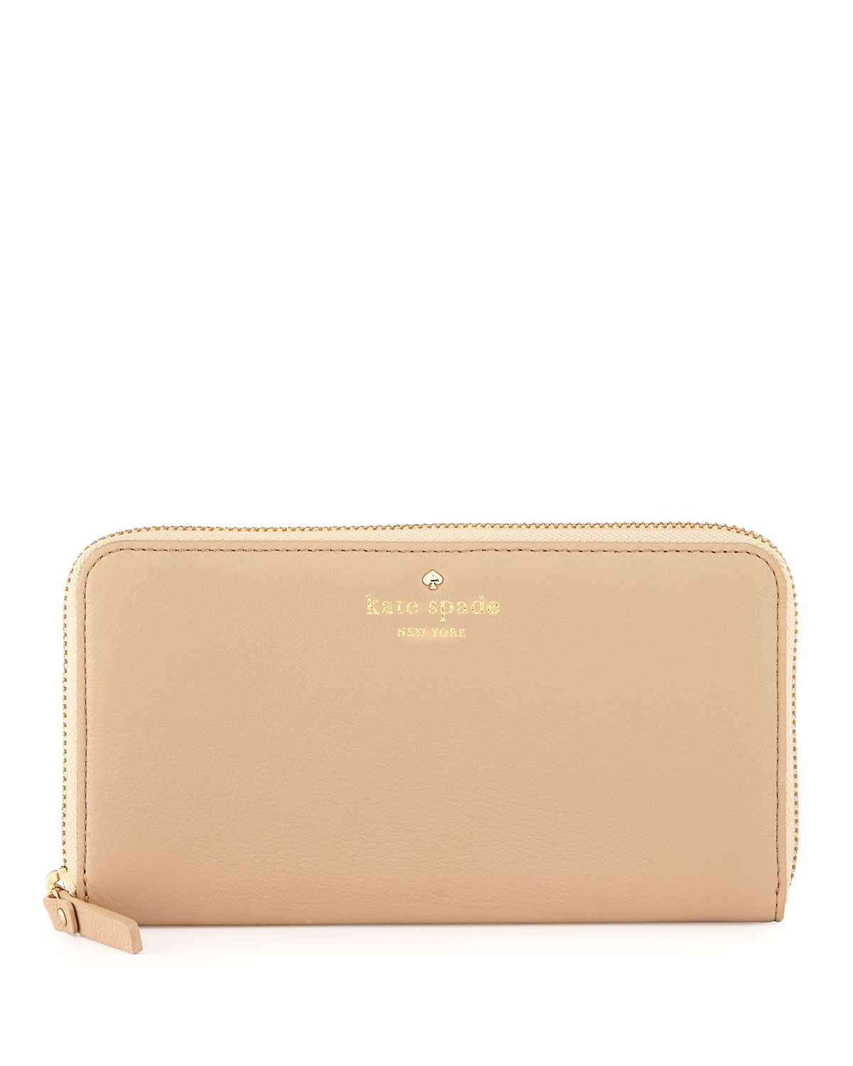 cobble hill lacey zip wallet, affogato   kate spade new york   Affogato