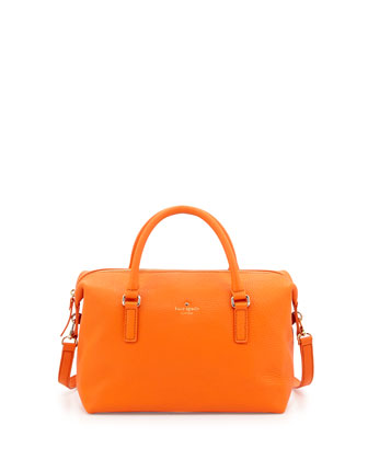 henry lane emmy satchel bag, ablaze