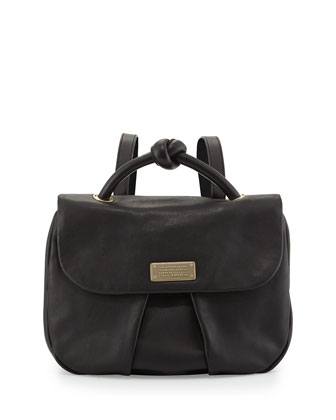 MARChive Leather Backpack, Black