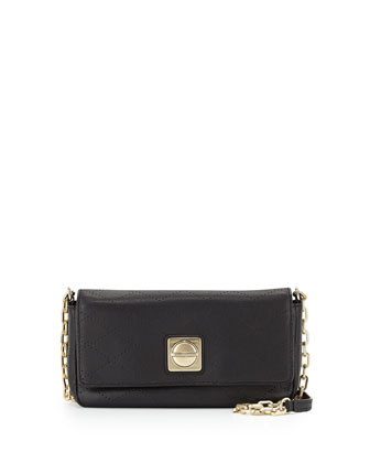 On the Dot Carmena Crossbody Bag, Black