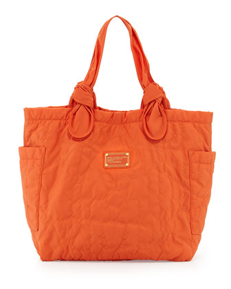 Pretty Nylon Tate Medium Tote Bag, Spiced Orange