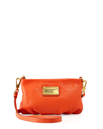 Classic Q Percy Crossbody Bag, Spiced Orange