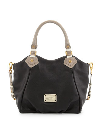 Classic Q Colorblock Fran Satchel Bag