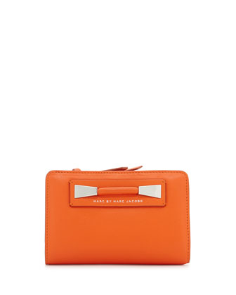 Femme Fatale Lauren Wallet, Spiced Orange