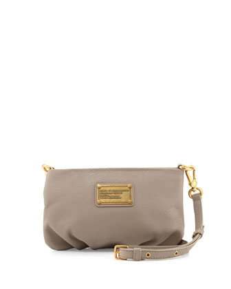Classic Q Percy Crossbody Bag, Cement