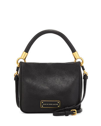 Too Hot to Handle Mini Crossbody Bag, Black