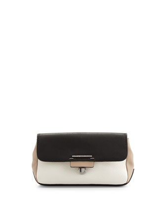Shelter Island Tricolor Clutch Bag