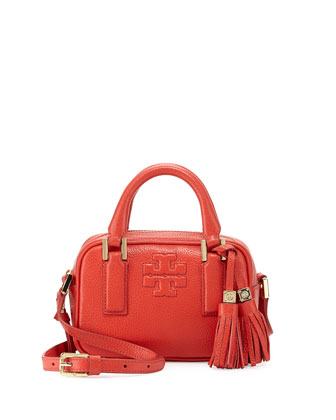 Thea Mini Crossbody Satchel Bag, Jasper