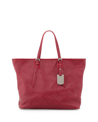 LM Cuir Shoulder Tote Bag, Hydrangea