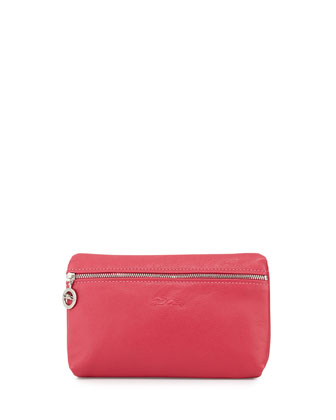 Le Pliage Cuir Cosmetics Case, Candy