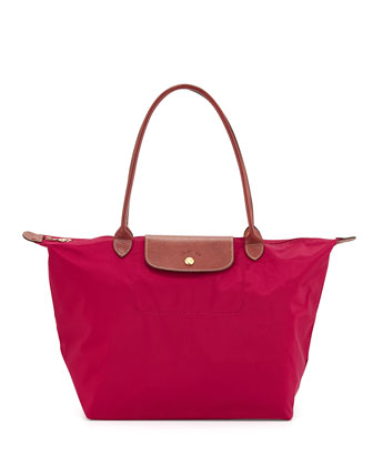 Le Pliage Large Shoulder Tote Bag, Hydrangea