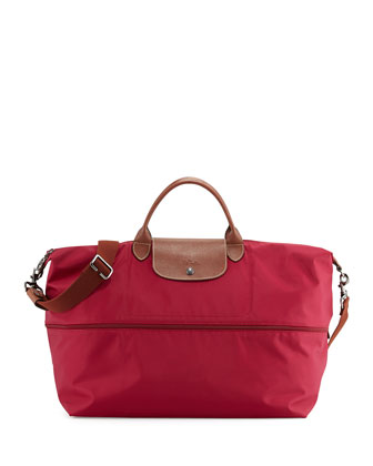 Le Pliage Expandable Travel Bag, Hydrangea
