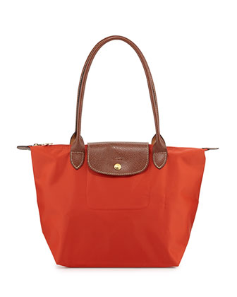 Le Pliage Medium Shoulder Tote Bag, Poppy